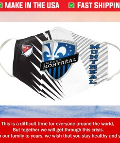 Montreal Impact FC Cotton Face Mask