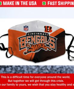 NFL Cincinnati Bengals Cotton Face Mask