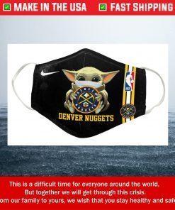 Nike Baby Yoda Denver Nuggets Cotton Face Mask