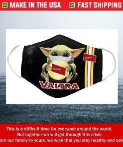 Nike Baby Yoda Valtra Tractors Cotton Face Mask