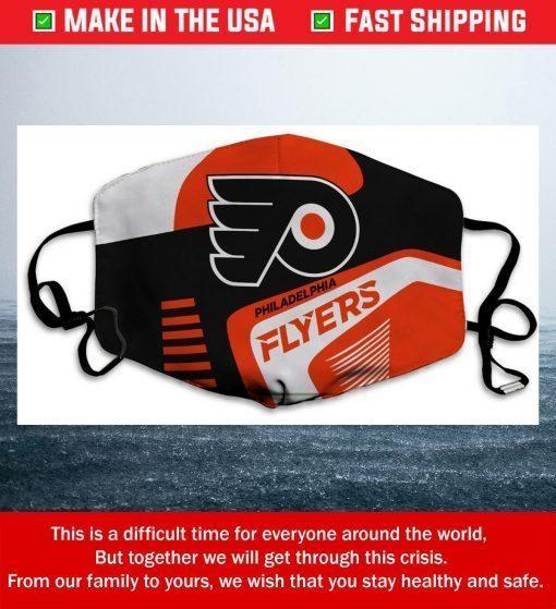 Philadelphia Flyers Cotton Face Mask