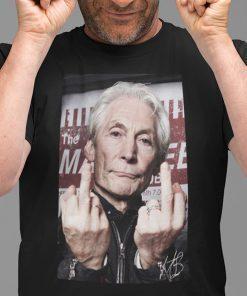 2021 Rolling Stones Drummer Charlie Watts Shirt