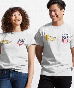 USA SOCCER TEAM GOLD CUP 2021 CHAMPIONS SHIRT