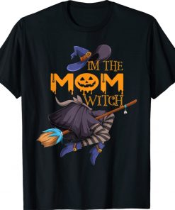 I'm The Mom Witch Halloween Matching Group Costume Shirt