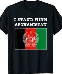 I Stand With Afghanistan Stand With Afghanistan Afghan Free Shirt
