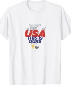 USA This Is Ours Concacaf Gold Cup Champions Shirt