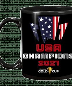 USA Champions Gold Cup 2021 Mug