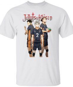 Asahi Suga and Daichi Jujutsu kaisen shirt