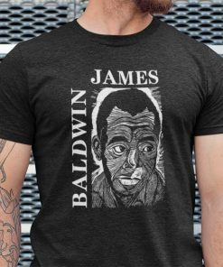 James Baldwin Portrait James Baldwin Shirt