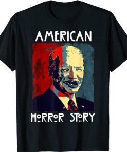 Biden Horror American Zombie Story Halloween Vintage Shirt